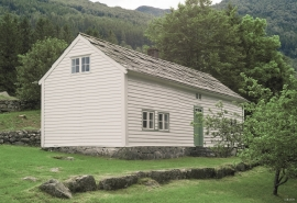 Hauga House at Tveito, Kvinnherad
