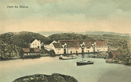 Hiskholmen around 1900