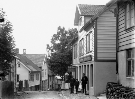 Leirvik (Stord), around 1910