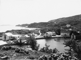 Bekkjarvik, Austevoll early in the 1900s.