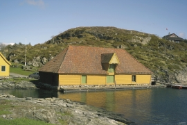 The Salting shed at Trælevika.