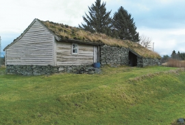 The longhouse at Førland