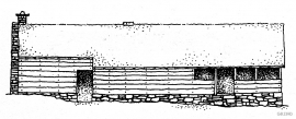 The longhouse at Litleoksa