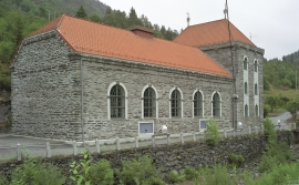 The power station at Herlandsfossen, Osterøy