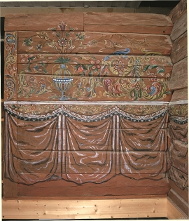 The décor from the Skogasel house