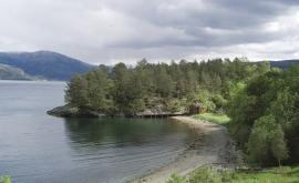 The boatshed at Hamn