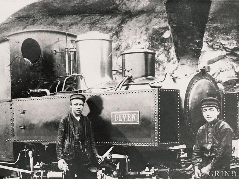 The locomotives were built in Belgium