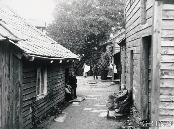 Vikøy Deanery in Kvam, 1898
