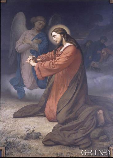"""""""Jesus in Gethsemane"""""""