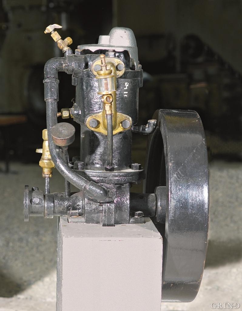 Motorproduksjonen dannet grunnlaget for tettstedframveksten på Rubbestadneset.