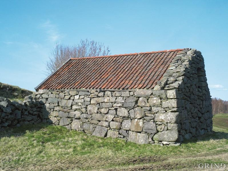 Many of the stone buildings in Nordhordland have a wood construction within the walls.