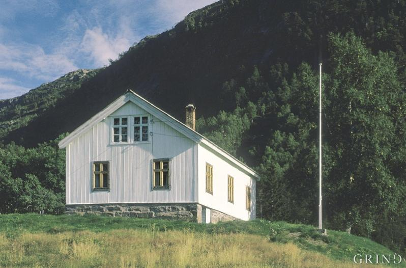 Olav Nygard's home in Modalen.