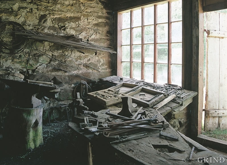 Den gamle låsesmia i Bløddalen