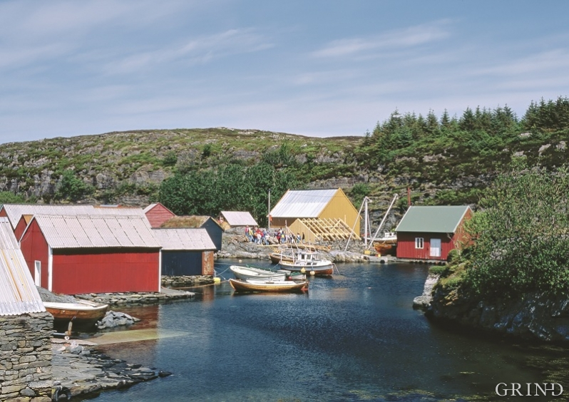 Restaurering av sjøbruksmiljøet i Ovågen, Øygarden
