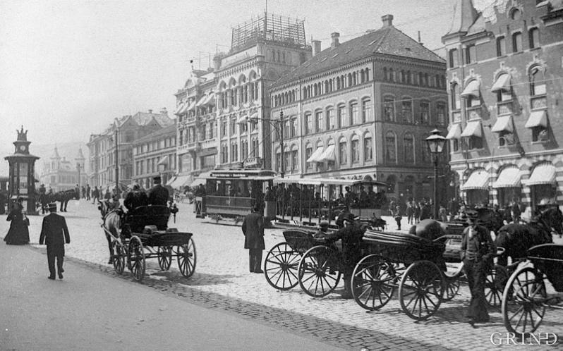 Torvalmenningen in 1898