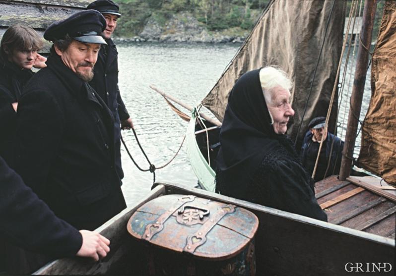 For strilene var den ukentlige turen til Bergen en del av hverdagens rytme