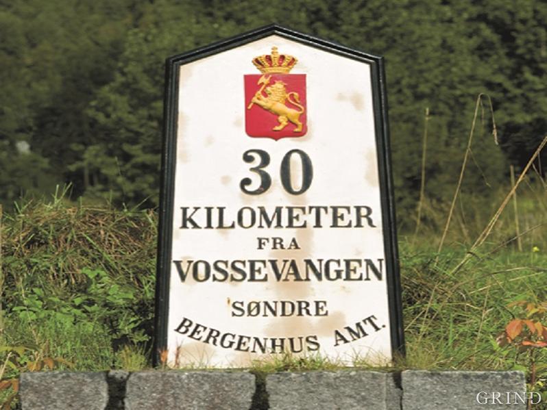 """""""30 kilometres from Vossevangen"""""""