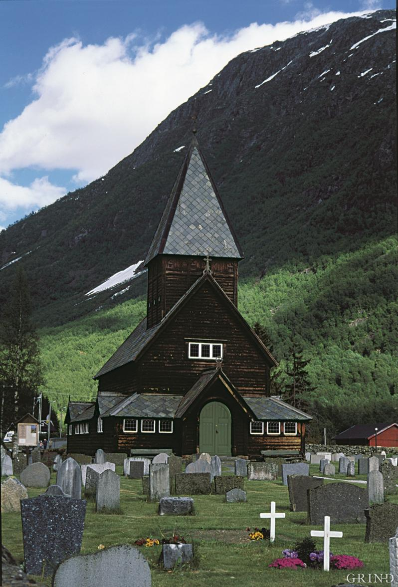 The stave church in Røldal
