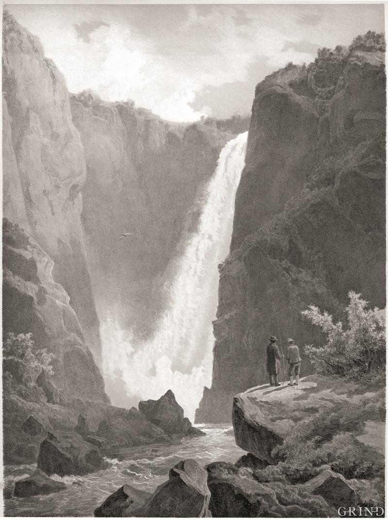 Kjentmannen og forskeren. «Vøringsfos i Hardanger»