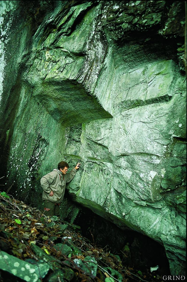 Steinbruddet ved Gravdal