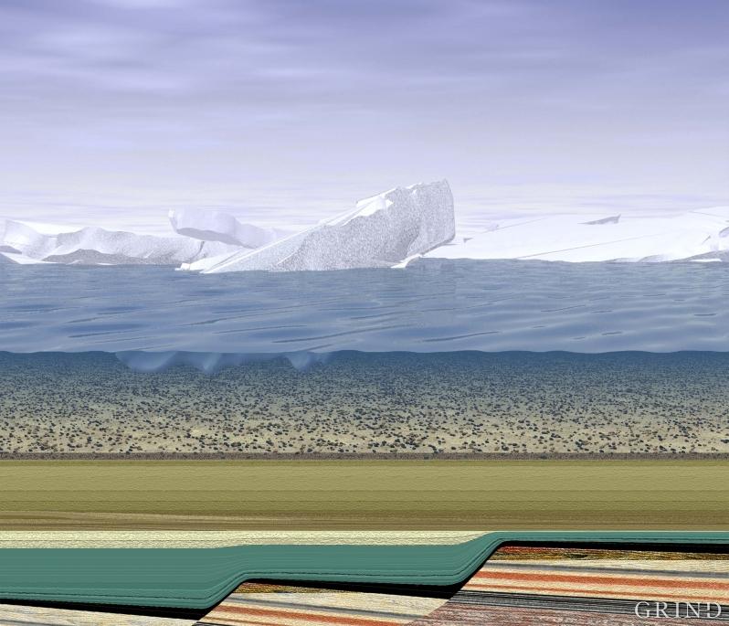 Nye titalls millioner år passerer, gjennom istidene de par siste millioner årene og fram til vår egen tid.