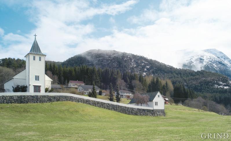 Ænes church