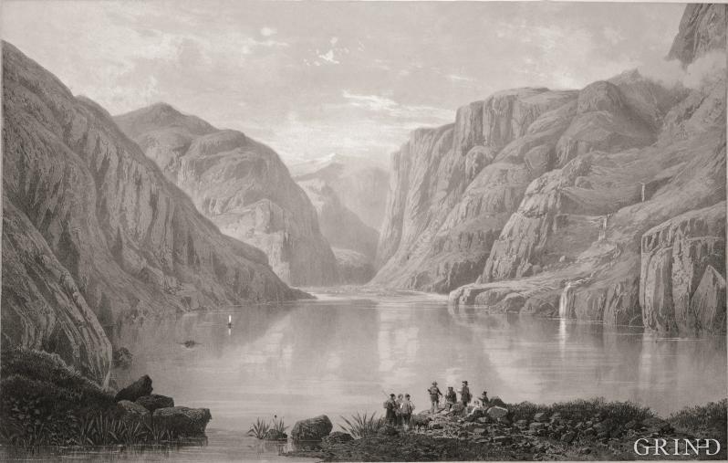 Utsikt over vatnet fra Hæreid