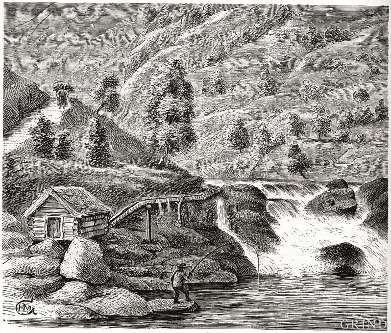 Fiske i Matreselva, Masfjorden