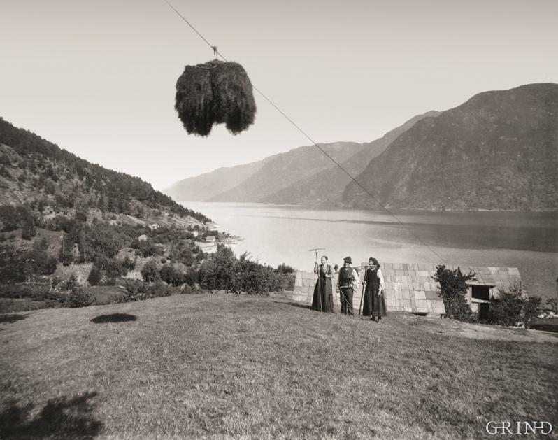 Digranes i Odda, ca. 1900