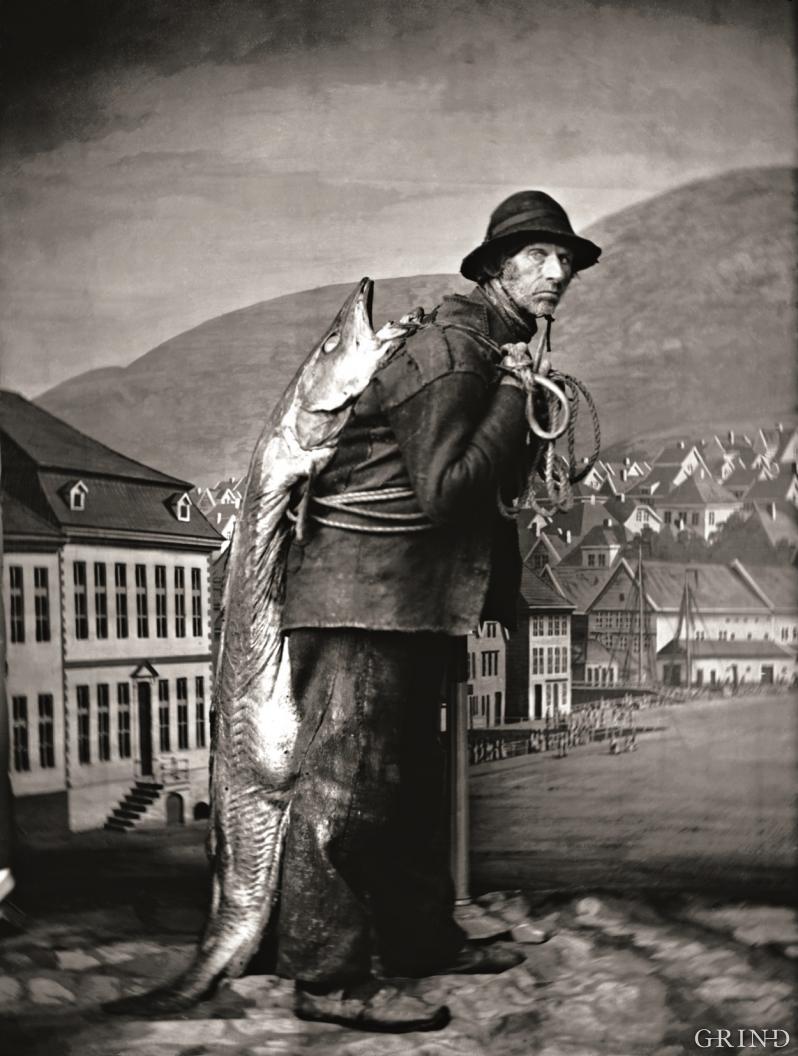 «En fiskedrager fra Bergen»